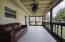 Very Large Screened Patio With Beautifully Detailed Ceiling