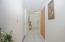 Hallway from front door.