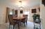 Formal Dining Area Adjacent to Kitchen