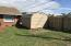shed fenced yard