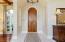 Foyer/ Pecky Cypress Door