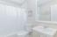 guest bath tub/shower combo