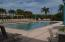 Very large heated community pool, with separate jacuzzi (not shown), and gym, library and clubhouse..separate bathrooms and showers and changing area...all for owners use