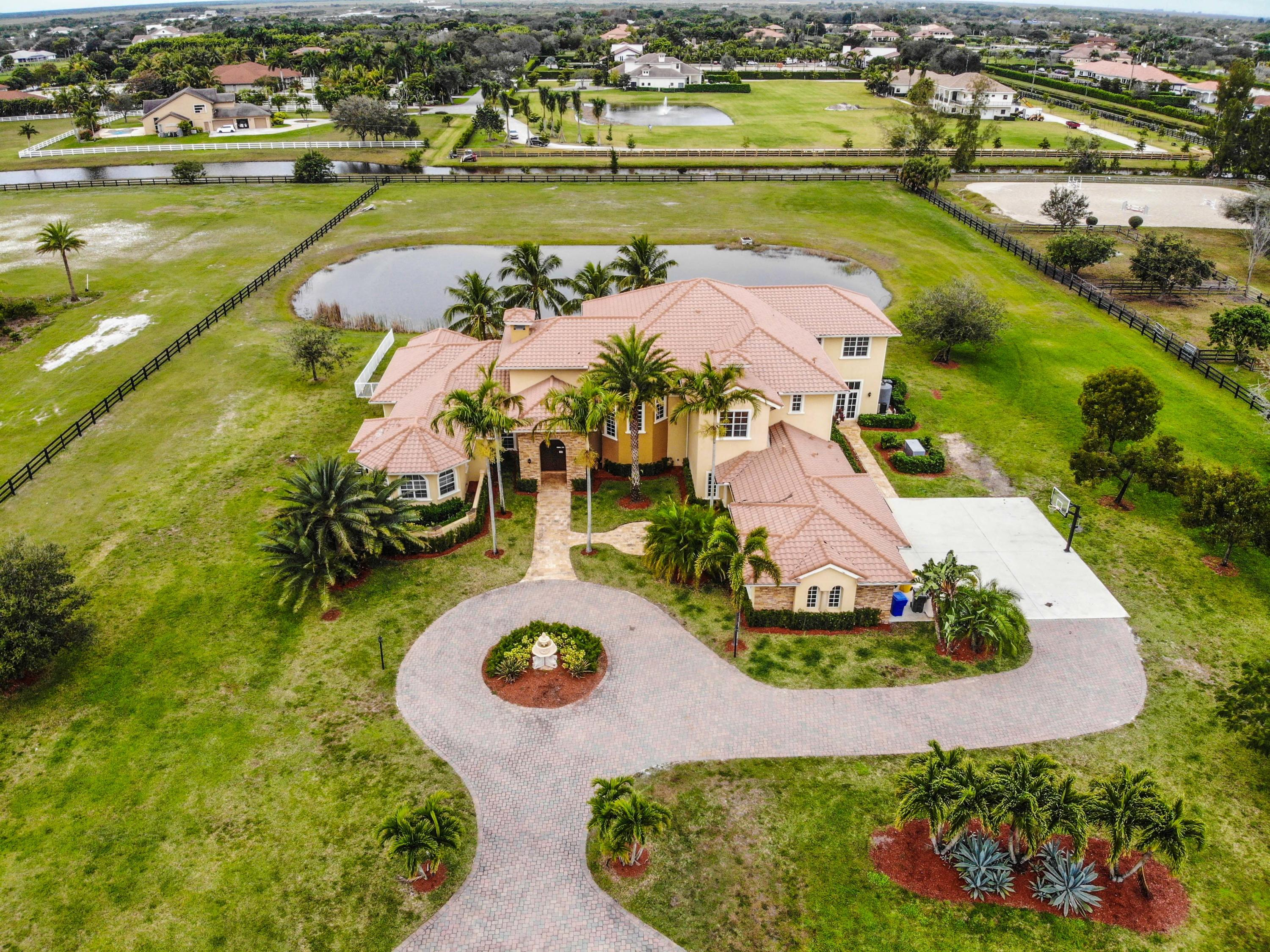 15159 Sunnyland Lane, Wellington, Florida 33414, 7 Bedrooms Bedrooms, ,5.1 BathroomsBathrooms,Single Family,For Sale,Sunnyland,RX-10505912