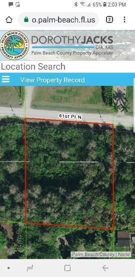 16570 61st Place, Loxahatchee, Florida 33470, ,Land,For Sale,61st,RX-10505817
