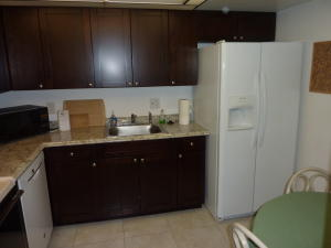 Newer wood cabinets