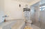 Master Bathroom with whirlpool and large separate Enclosed Shower