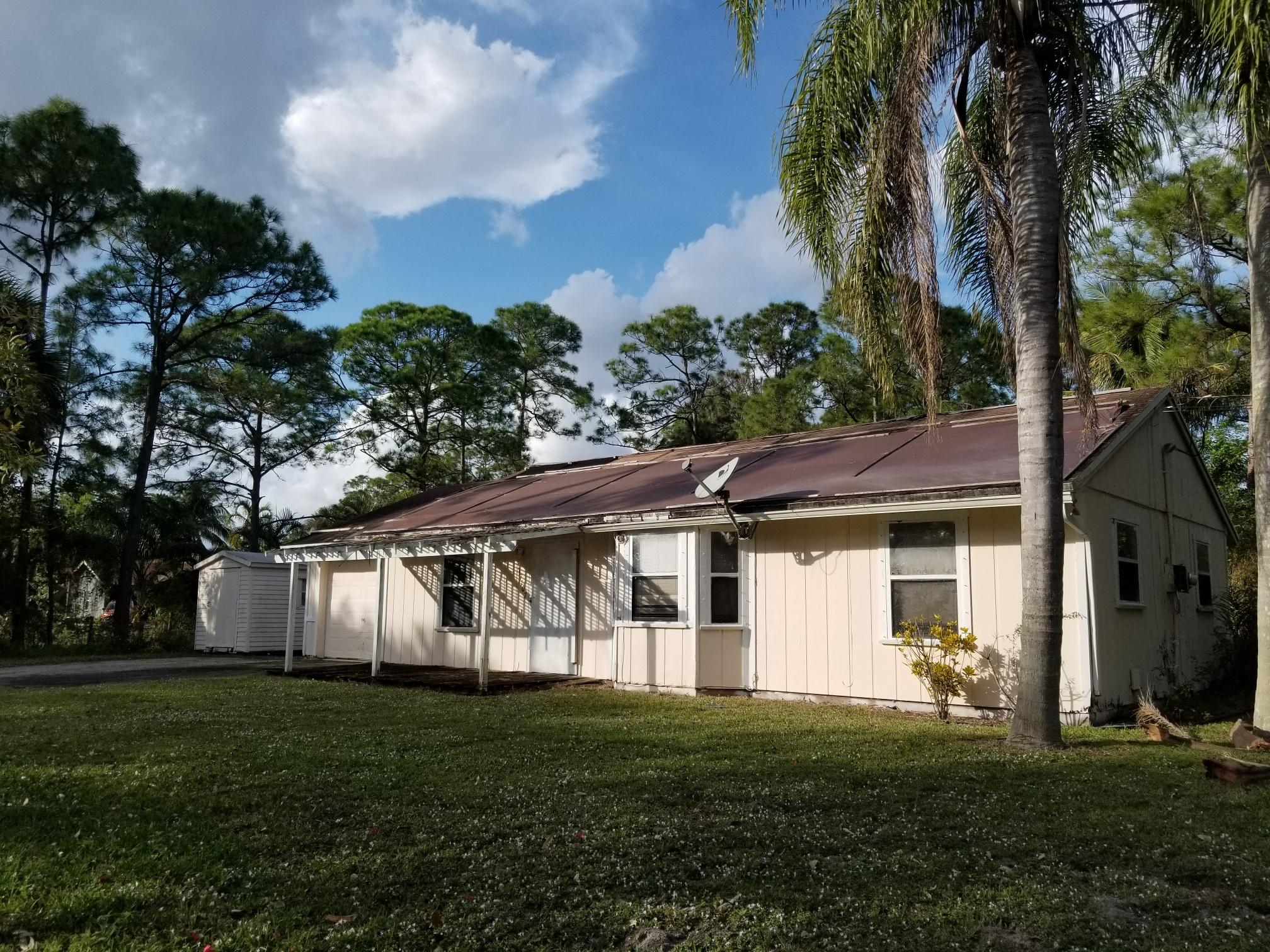 Home for sale in Acreage The Acreage Florida