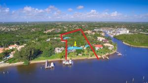 218' Along Intracoastal, 3.3 Acres, 2 Homes + 8-12 Car Garage .Approx 600' in Depth
