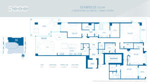 Seabreeze South Floorplan