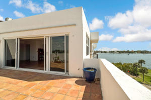 Main Open Patio With Intracoastal Water Views