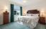 Guest bedroom #5 has neutral decor