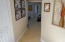 Hallway to the 3 Bedrooms West Side