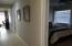 Hallway to 3 Bedroom West Side