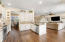 Kitchen is conveniently open to the great room, making it perfect for entertaining