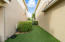 Turf lawn is great for maintenance free living!