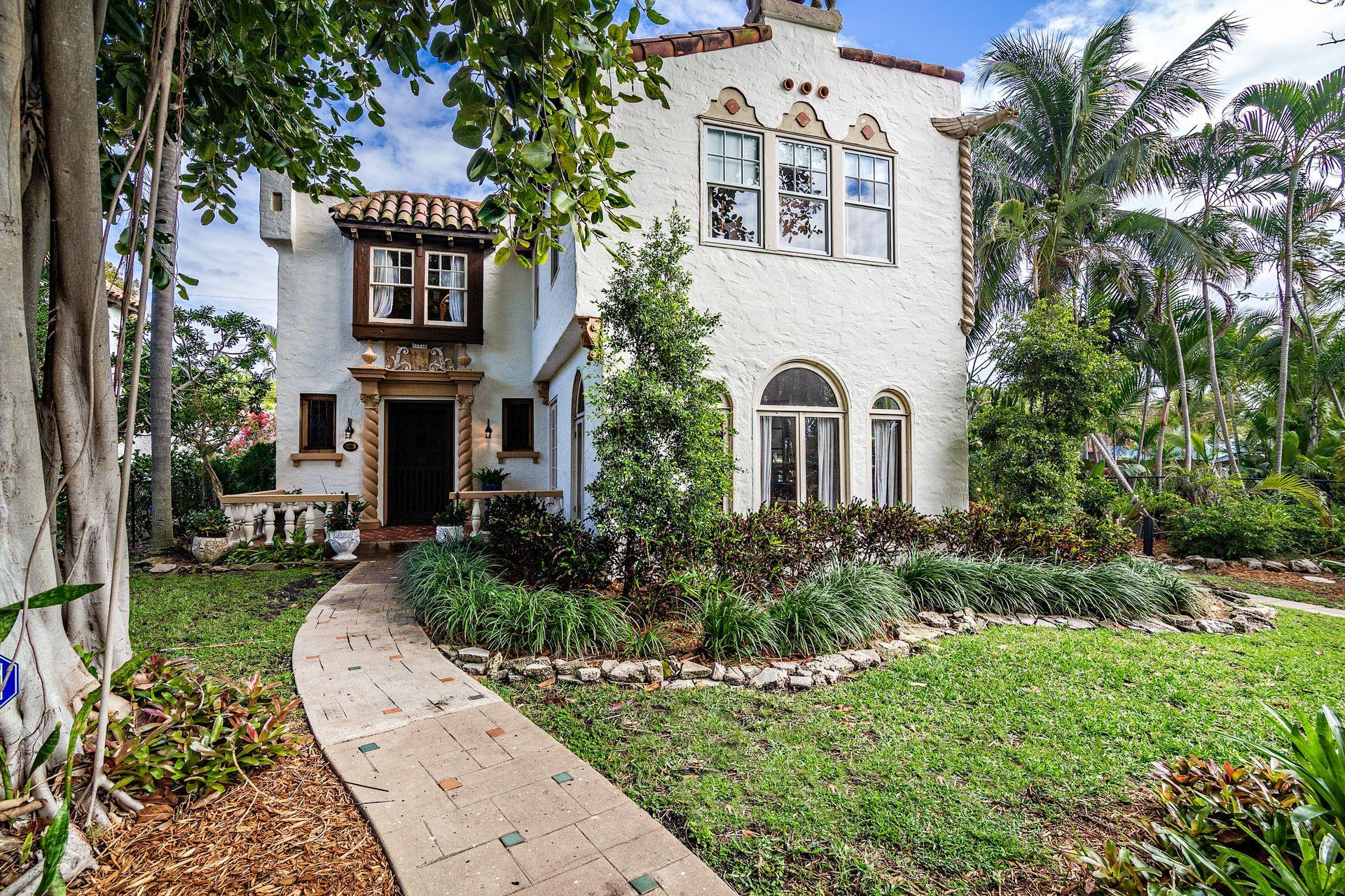 Home for sale in Old Historic Northwood West Palm Beach Florida