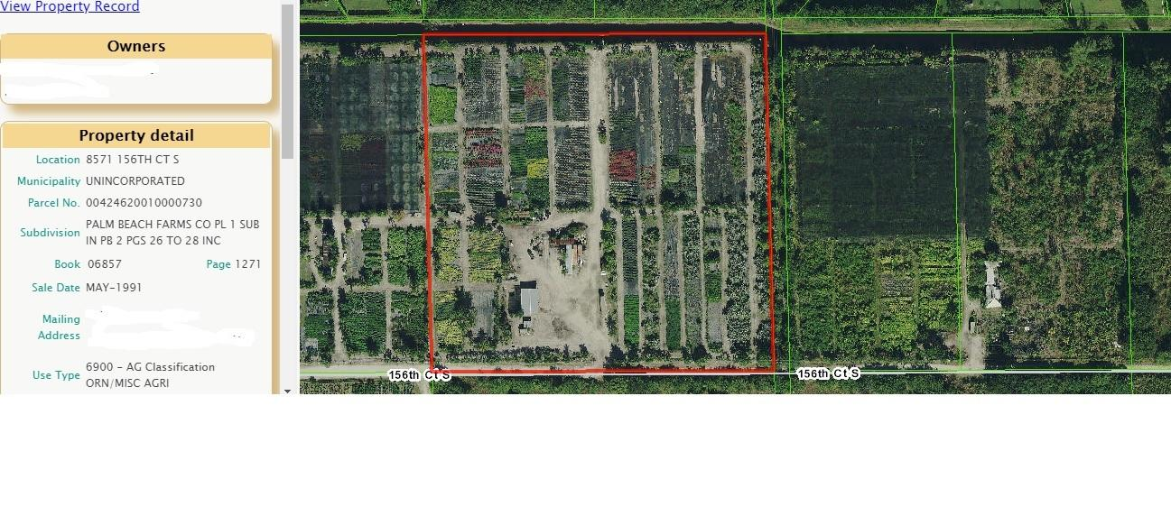 8750 156th Court, Delray Beach, Florida 33446, ,Land,For Sale,156th,RX-10519215