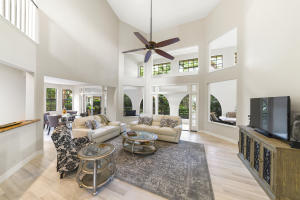 Great Room with 30 ft. Ceilings