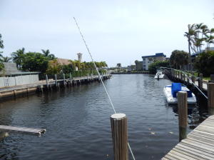 Delray Beach Waterfront Townhouse Boat Dockage