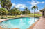 Large pool for family fun