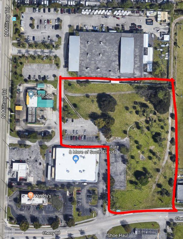 1450 Military Trail, West Palm Beach, Florida 33409, ,Land,For Sale,Military,RX-10522370