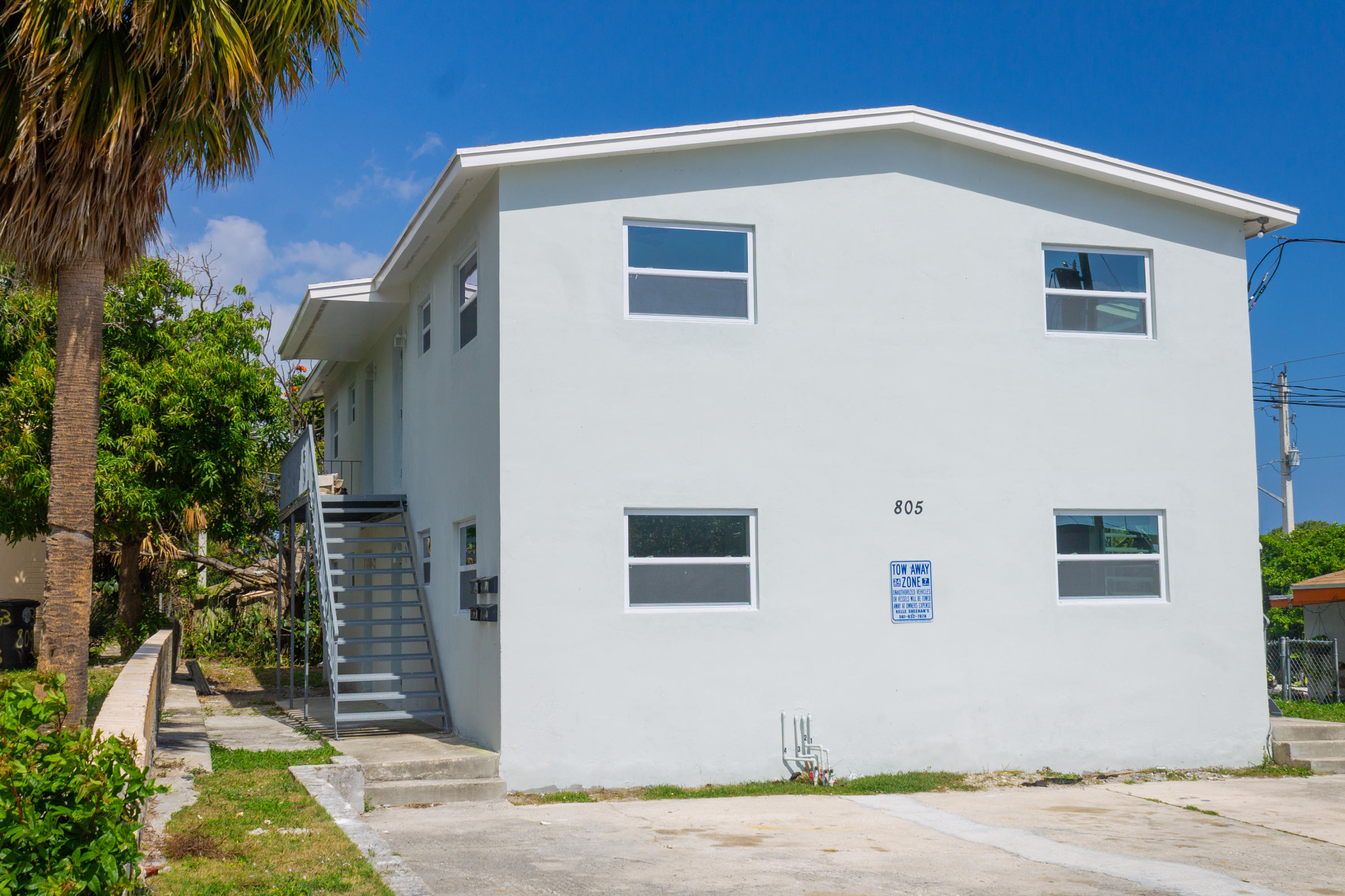 805 19th Street, West Palm Beach, Florida 33407, ,Quadplex,For Sale,19th,RX-10523154