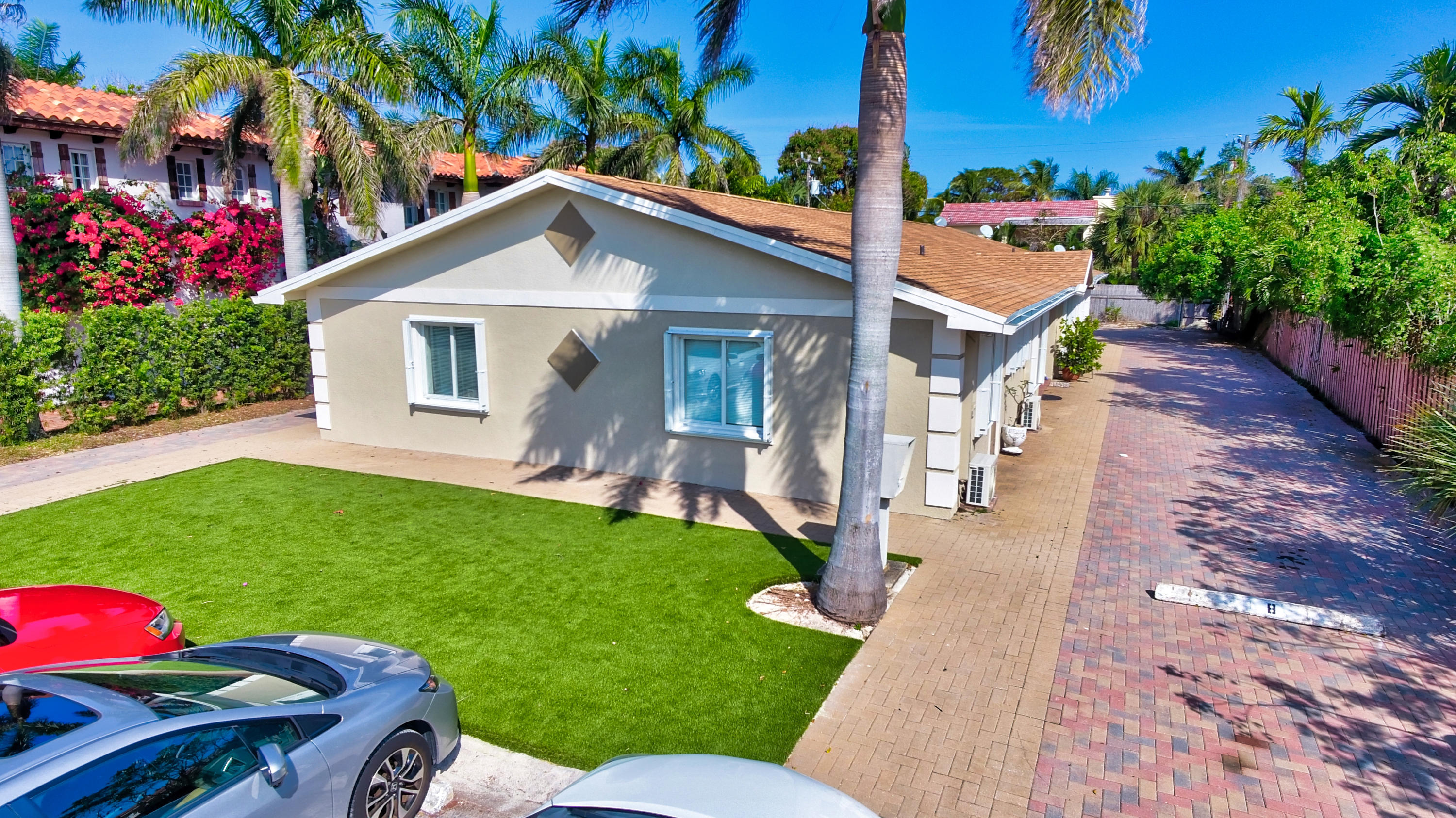 In the heart of booming Delray this fully rented and renovated 8 unit building is ready and waiting for you to take it to the next level!    100% occupancy since the current owner bought the property in 2013.   This building features four efficiencies and four 1 bedroom units, on site coin operated tenant laundry facility and also has a brand new roof.  Located a half mile from downtown Delray and less than a mile to the beach! An already strong rental could be even stronger in comparison to the vacation rentals in the area who charge up to 3 times more based on monthly rentals.   This turnkey operation is ready for a new owner.