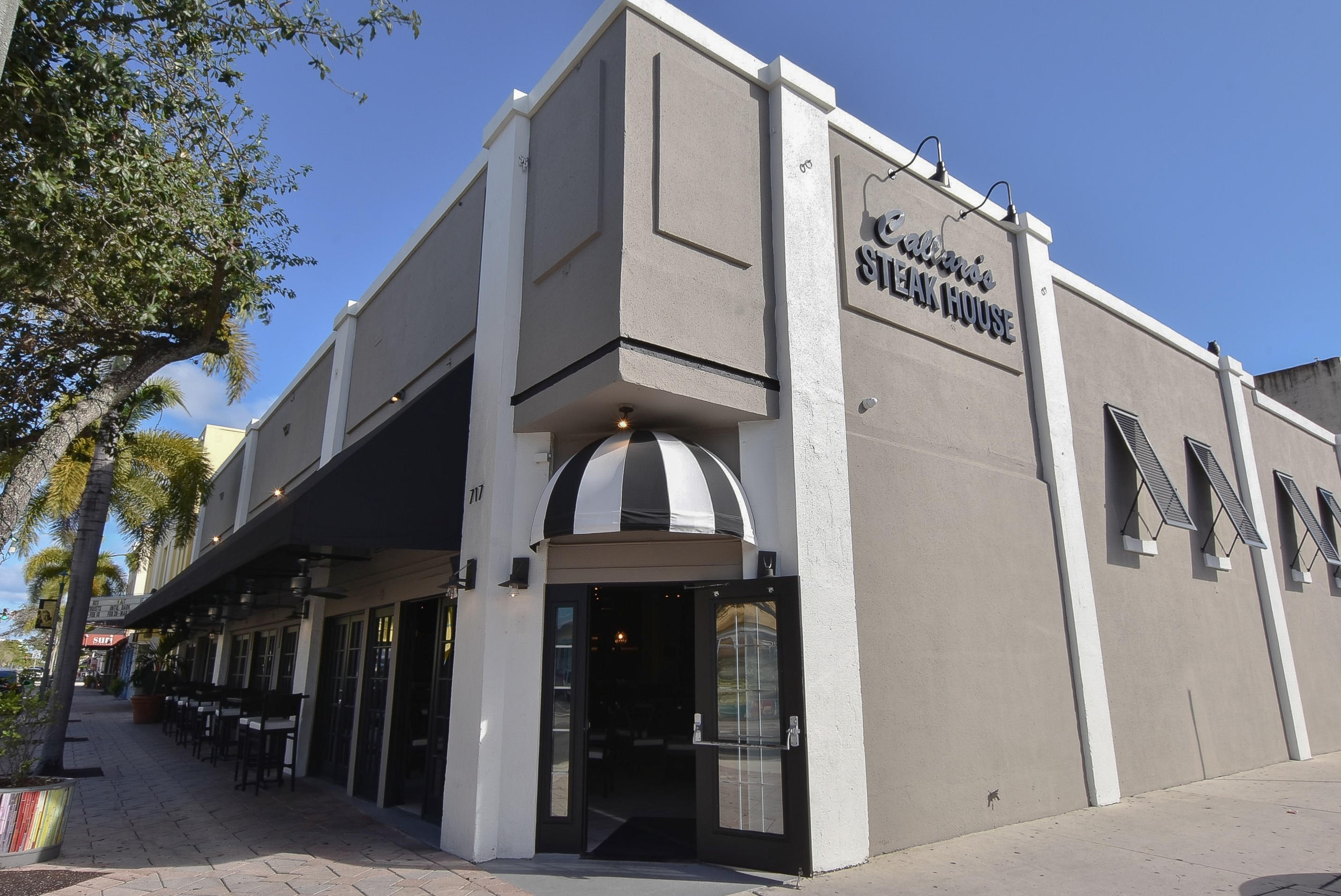 PREMIER BUSINESS & REAL ESTATE IN SUPREME LOCATION IN THE CENTER OF LAKE WORTH'S DOWNTOWN ENTERTAINMENT DISTRICT! Well established successful Italian Steakhouse, 4,000 sq ft, 150 seats & 1500 wine bottle room.  Totally remodeled Kitchen & Dining Room.  Supreme location on the busiest corner of main strip.