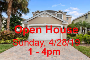Open House Sunday 4/28 from 1:00 till 4:00PM.