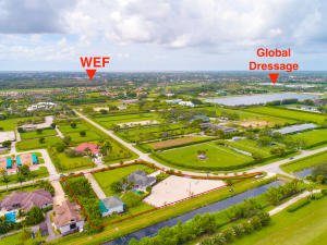 Location of property from WEF and Dressage Village