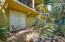 backyard patio next to the preservces