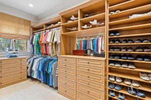 His Closet - Master BR