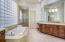 Master bathroom on main level