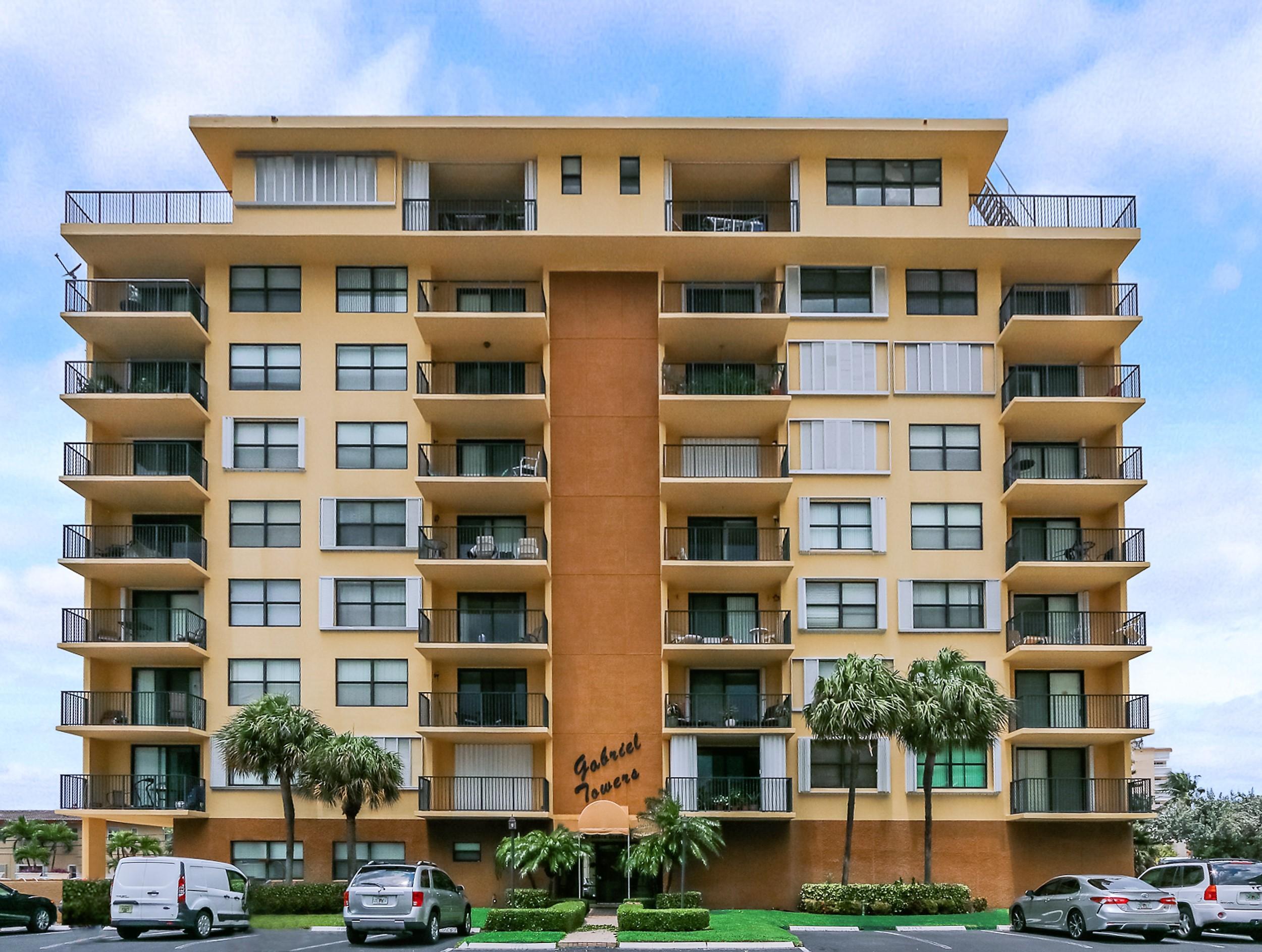 801 Ocean Boulevard, Pompano Beach, Florida 33062, 2 Bedrooms Bedrooms, ,2 BathroomsBathrooms,Condo/Coop,For Sale,GABRIEL TOWERS,Ocean,4,RX-10530251