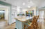 Kitchen offers granite counter tops