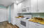 White cabinetry with plenty of storage