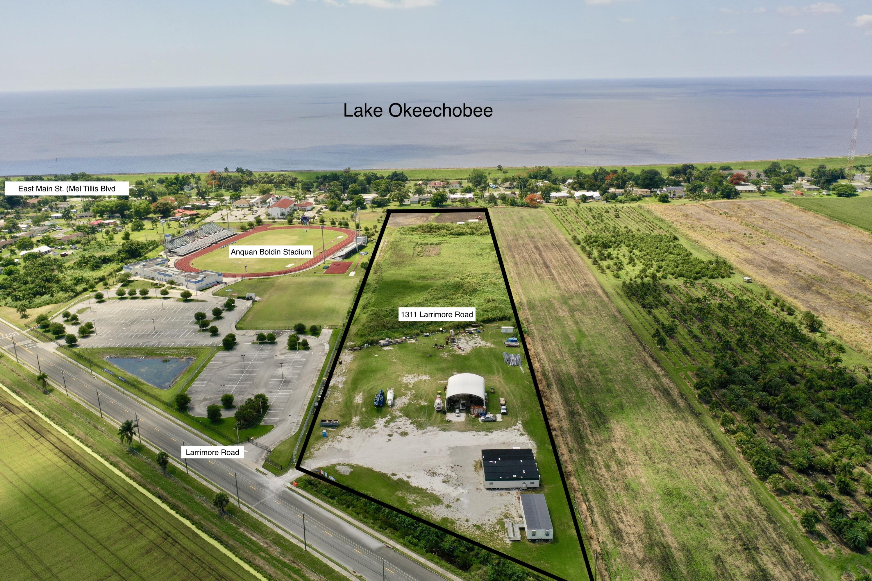 1311 Larrimore Road, Pahokee, Florida 33476, ,Land,For Sale,Larrimore,RX-10497708