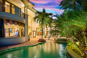 Pool & Spa, Tropical Landscaping