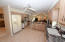 This is a very large and bright kitchen for the cook with an eat-in-breakfast area.