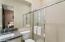 Guest Bath II Offers a Large Step In Shower