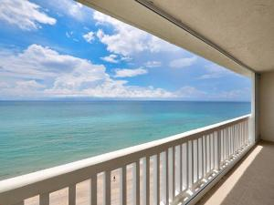 27 x 8 balcony off the living room offering DIRECT views from PH level