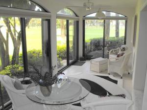 Glassed enclosed patio