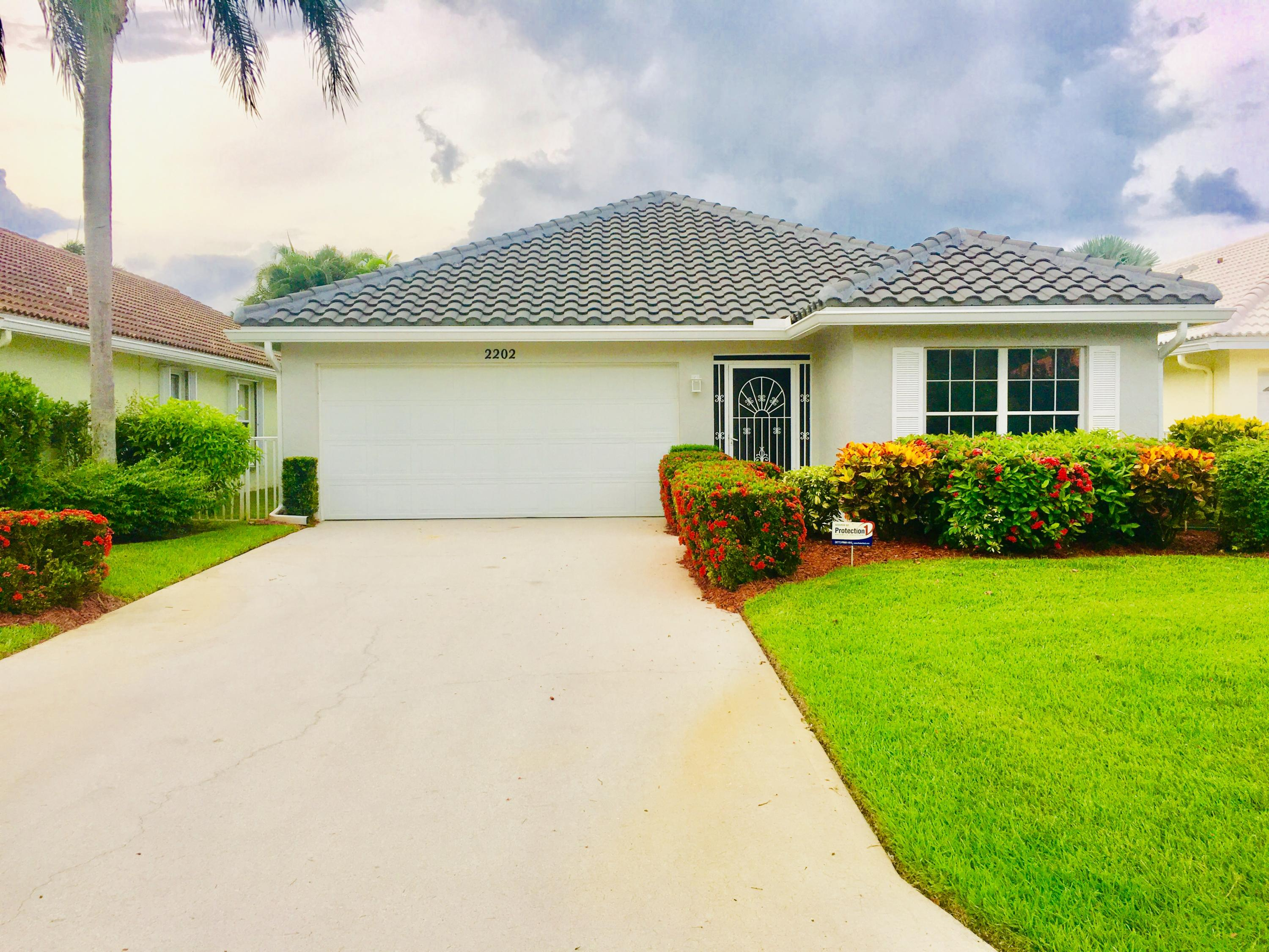 Home for sale in CHARTER CLUB @ MARTIN DOWNS Palm City Florida
