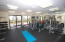 Oceanfront gym with ocean views