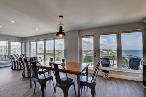 Corner units with floor to ceiling windows allow for spectacular views and light