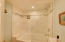 Combination shower and tub completely remodeled.