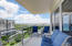 West balcony with views of boats, in the intracoastal and Lake Wyman