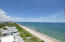 Amazing endless coastal view from inside the condo and the North balcony! The tallest building on the sand toward the north so no obstructions of your view up the coastline toward Palm Beach
