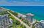 Ocean Reef is the tallest building on the sand for miles toward the north so you have no obstructions of your view of the coastline